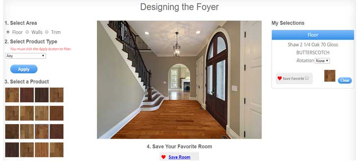 Virtual room designer best free tools from flooring for Interactive room layout