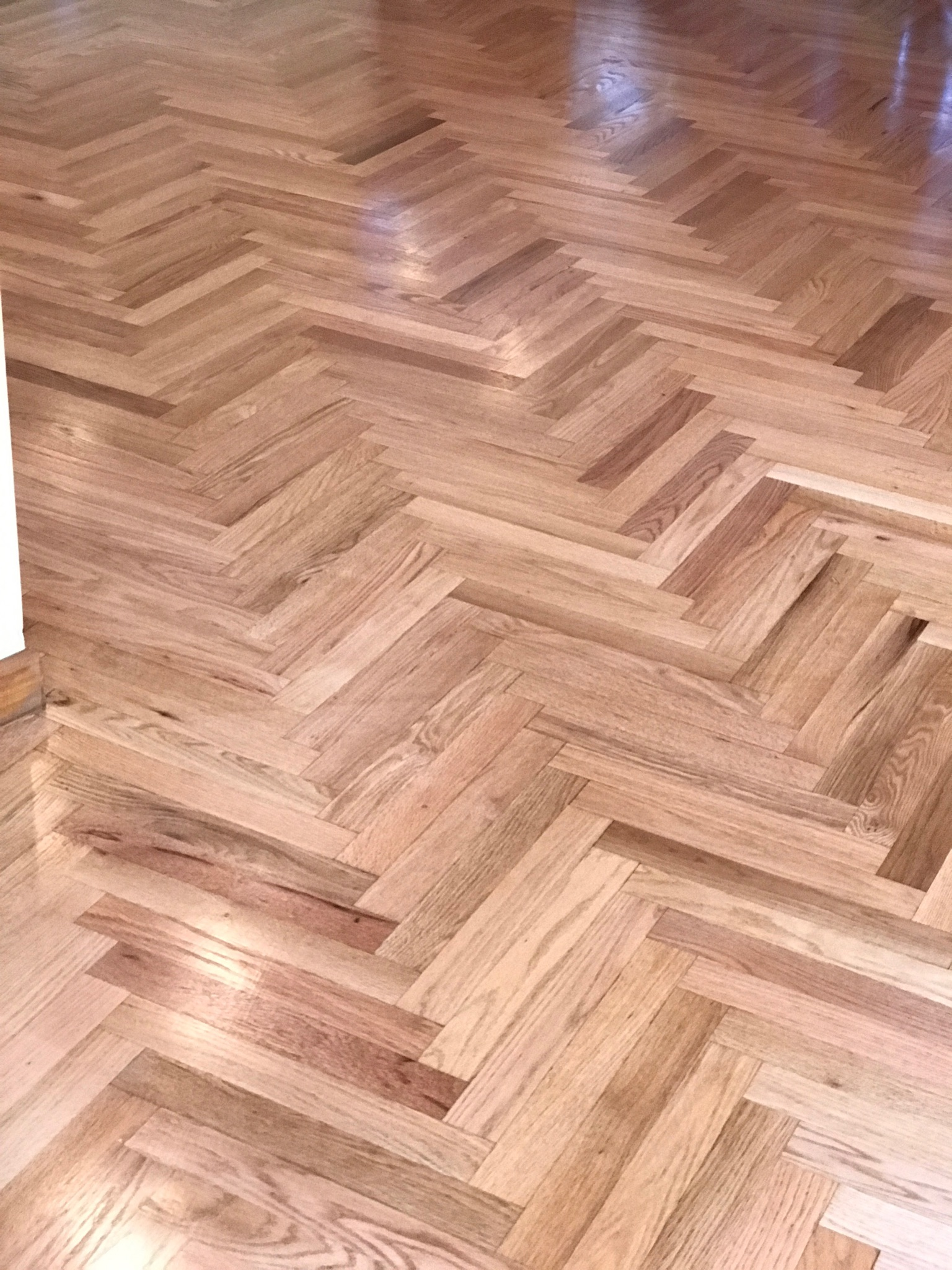 install-sand-finish-herringbone
