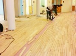 Installing no 1 oak unfinish- nail down