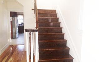 Finished Stairs Amp Rails ⋆ Hardwood Flooring By Gemini