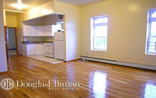 hardwood floors in apartment