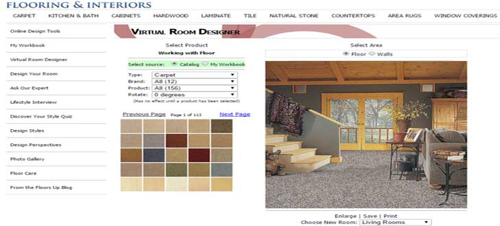 One Source Interiors Virtual Design Tool